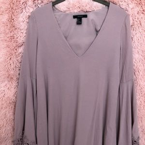 Lavender Bell Sleeved top/dress
